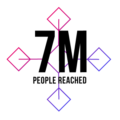 7M People reached