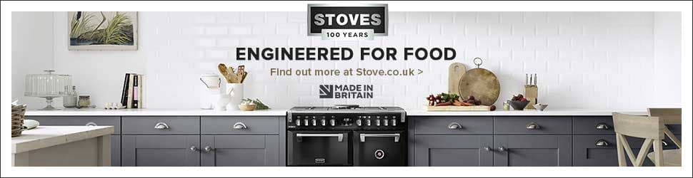 Stoves engineered for food banner